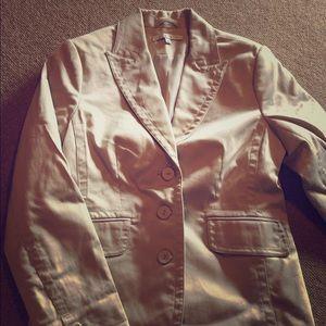 CABi Size 6 khaki blazer